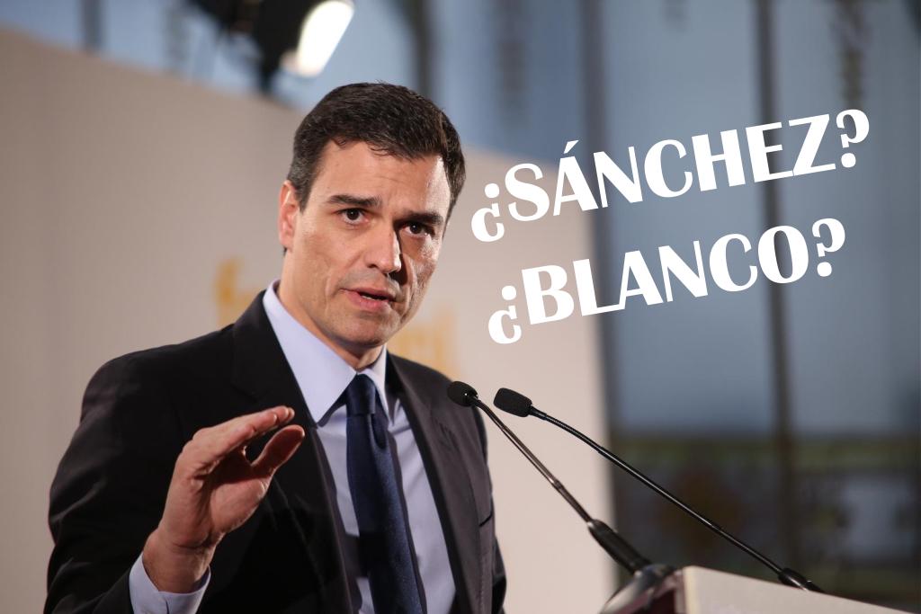 Pedro Sánchez es, en realidad, José Blanco